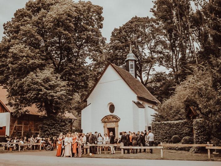 Heiraten in der eigenen Kapelle